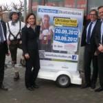 Vertreter der Westfalenhallen GmbH und Bounty Kommunikations GmbH (Foto: Westfalenhallen Dortmund)